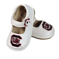 South Carolina Gamecock Girls Squeak Shoes