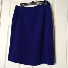 Electric Blue Pencil Skirt Nothing wrong with it! Skirts