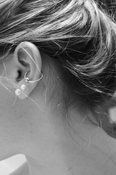 If I got a conch, my ear would look just like this~ except tiny. My ears are annoyingly tiny.