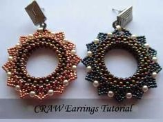 [ENG] CRAW Earrings Tutorial