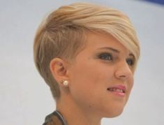 Trend short hairstyle men cut women's hair woman and man Trend short hair hairstyle of 2017 come with a design of 2017 hairstyles for short hai...