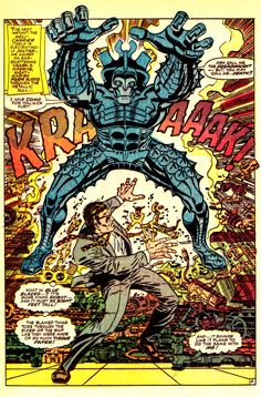 Nick Fury takes on a Dreadnaught - Strange Tales