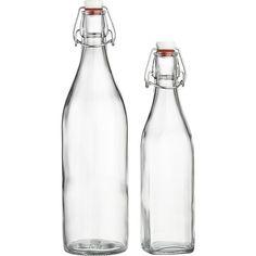Airtight Glass Bottles $4.95 - $6.95