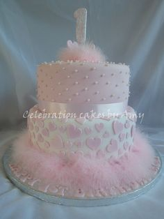 1st birthday cake girl pictures - Google Search