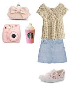 Pink Roses by balletlover11 on Polyvore featuring polyvore, Calypso St. Barth, AG Adriano Goldschmied, New Look, Boohoo, fashion, style and clothing