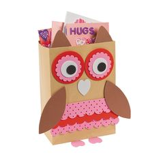 could make ourselves with lunch bag and paper scraps!  cute for viv to give as gifts