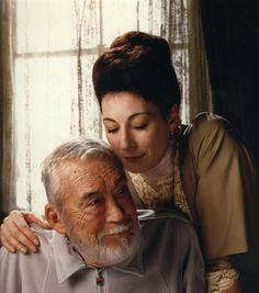 Angelica and John Huston. He made good movies. She is an impressive actress