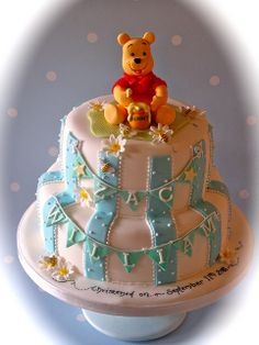 Christening cake for Zac | Flickr: Intercambio de fotos