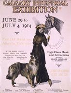 1914 Calgary Exhibition Capital Of Canada, Military Tattoos, Horse Gear, Canadian History, Collie Dog, Vintage Travel Posters, Dog Quotes, Show Horses, Calgary