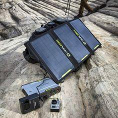 Goal Zero Sherpa 100 Solar Recharging Kit #Kit, #Recharge, #Solar, #Versatile