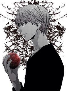 Image result for light yagami manga