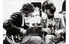 Bob Dylan and Mick Jagger