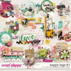 Happy Tags by Studio Basic and Erin Wright
