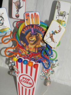 Madagascar 3  circus carnival theme party by flowers130 on Etsy, $21.95