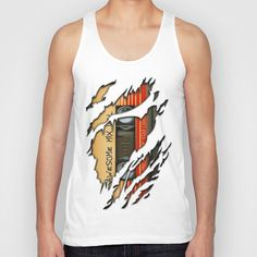 Awesome transparent mix cassette tape volume 1 Unisex Tank top #tshirt @Society6 #tanktop #cassette #cassettetape #awesomemix #guardianofthegalaxy #starlord