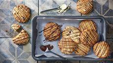 Sušenky s brusinkami