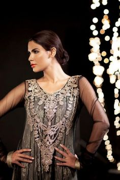 There are more exclusive designs and dashing color scheme in the new collection of Saadia Mirza VIRTUE.
