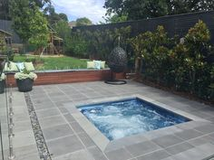 Smooth Edge Grande - Endless pools and Spas Endless Spas, Outdoor Spa, Outdoor Decor, In Ground Spa, Moderne Pools, Swimming Pool Photos, Fiberglass Swimming Pools, Backyard Landscaping, Backyard Ideas