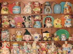 For the love of American Bisque cookie jars and everything vintage- one day, I will visit this Chicago shop.   www.jazzejunque.com