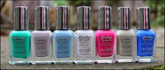 Barry M 2014 Summer Collection Review and Swatches