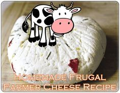 Homemade Frugal Farmer Cheese Recipe - Homesteading - The Homestead Survival .Com