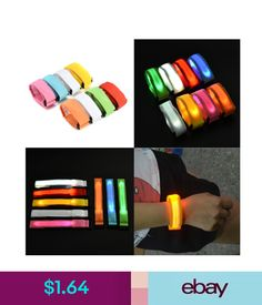 Men's Arm Warmers Apparel Accessories Creative Arm Glow Party Supplies Glow Bangle Reflective Led Light Arm Armband Strap Safety Belt For Night Running Cycling