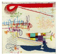 Takashi Iwasaki: Embroidered Art Pieces
