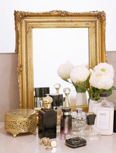 Gold Mirror Obsession