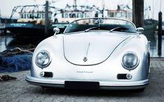 Customer Cars Vintage car porsche 356 speedster cool little cars Luxury Sports Cars, Classic Sports Cars, Sport Cars, Classic Cars, Luxury Auto, Cars Vintage, Vintage Porsche, Retro Vintage, Porsche 356 Speedster