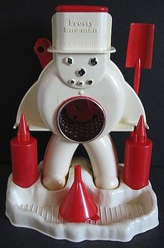 Frosty Sno-Man Snowcone Machine (Hasbro 1971)