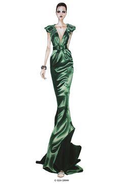 fashion drawings, Issa Grimm
