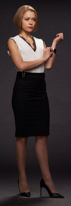 Orphan Black : Tatiana Maslany as Rachel Duncan.