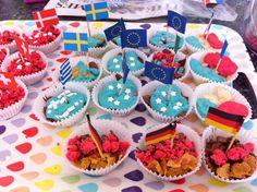 Eurovision cupcakes