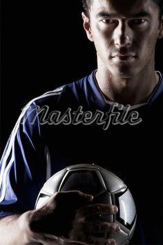 soccer pose