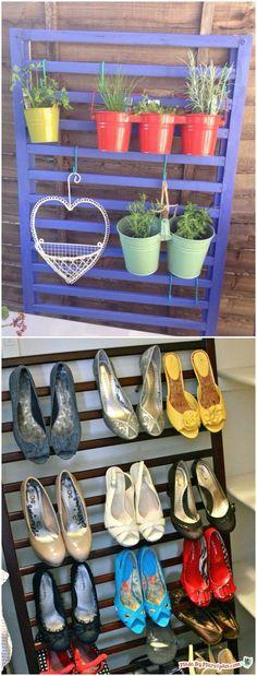 Reciclar una cuna. Visto en www.ecodecomobiliario.com