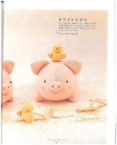 Sewing Toys Free Pattern: Felt Pig Plush (you could use this as a pattern for a felted pig) Sewing Toys, Sewing Crafts, Sewing Projects, Plushie Patterns, Felt Patterns, Sewing Stuffed Animals, Stuffed Toys Patterns, Plush Animals, Felt Animals