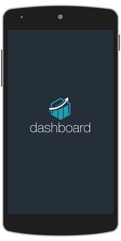 DashBoard Android App Template Splash Screen