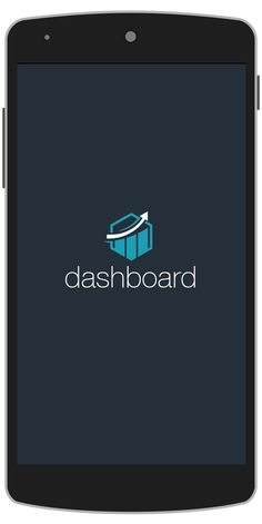DashBoard Android App Template Splash Screen