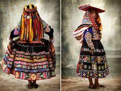 Mario Testino's Alta Moda, a photographic exhibition of traditional Peruvian dress