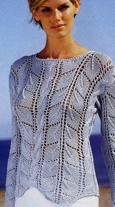 Women's pullover tie spokes