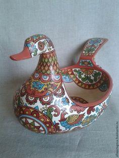 """Посуда ручной работы. Ярмарка Мастеров - ручная работа. Купить Ковш """"Лебедь""""большой. Handmade. Ковш, русская традиция, посуда из дерева"""