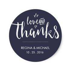 Shop Navy Blue Elegant Script Wedding Thank You Sticker created by raindwops. Wedding Favor Labels, Rustic Wedding Favors, Cute Wedding Ideas, Wedding Party Favors, Elegant Wedding Invitations, Handmade Wedding, Personalized Wedding, Wedding Souvenir, Nautical Wedding