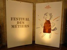 Hermes Festival des Metiers 9 HappyFace313 Hermes Paris, Artisan, Decor, Decoration, Craftsman, Decorating, Deco