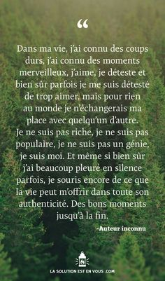 French Words, French Quotes, Positive Attitude, Positive Thoughts, Zen Attitude, Words Quotes, Life Quotes, Best Quotes, Funny Quotes