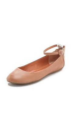 Luxury Rebel Shoes Baxter Ankle Strap Flats - I NEED THESE