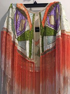 Stunning Tassel Sequin Cape | eBay