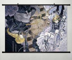 Anime Pandora Hearts Home Decor Wall Scroll Poster Fabric Painting Oz.Vessalius / Jack Vessalius x Jack Vessalius, Pandora Hearts, Vanitas, Fabric Painting, Manga Anime, Book Art, Jun, Poster, Wall