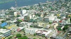 vista aérea de la ciudad de coatzacoalcos, ver.