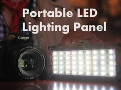 Picture of DIY Portable LED Lighting Panel