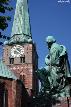 The marzipan capital of the world, Lubeck, is also known as the town of seven spires. Lubeck, Germany